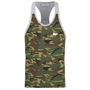 Myprotein Men's Camo Tank Top - Grey Trim