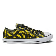 Converse Men's Chuck Taylor All Star Warhol-Banana Ox Trainers - Black/White/Freesia