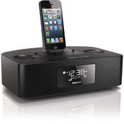 Philips AJ7050D/05 Lightening Connector Docking Station for iPod/iPhone/iPad - Black