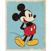 Disney Mickey Mouse Retro - 16 x 20 Inches Mini Poster