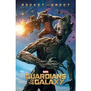 Marvel Guardians Of The Galaxy Rocket & Groot - 24 x 36 Inches Maxi Poster