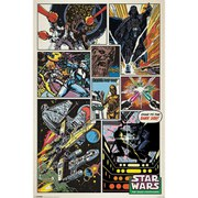 Star Wars Retro Comic - 24 x 36 Inches Maxi Poster