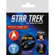 Star Trek - Badge Pack
