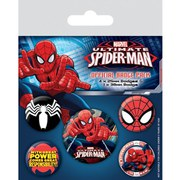 Marvel Ultimate Spider-Man - Badge Pack