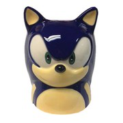 Sonic The Hedgehog Face Taza