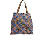 Vivienne Westwood Women's Snake Board Game Shopper Bag - Blue