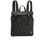 Vivienne Westwood Men's Squiggle Steamer Backpack - Green