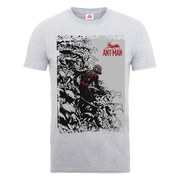 Marvel Men's Ant Man Army T-Shirt - Heather Grey