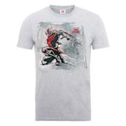 Marvel Men's Ant Man Art Sketch T-Shirt - Heather Grey