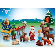 Playmobil Advent Calendar 1.2.3 Animals in the Forest (5497)