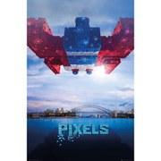Pixels Galaga - 24 x 36 Inches Maxi Poster