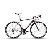Moda Stretto Carbon Road Bike - Sram Force - Primer/Chalk