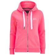 Superdry Women's Orange Label Primary Zip Hoody - Neon Pink