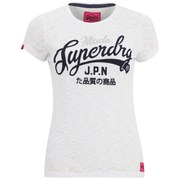 Superdry Women's Made Entry T-Shirt - Optic