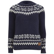 Superdry Women's Courcheval Knitted Jumper - Navy