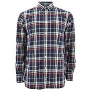 Tommy Hilfiger Men's Poplin Checked Long Sleeve Shirt - Multi