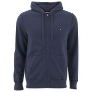 Tommy Hilfiger Men's Basic Zipped Hoody - Navy