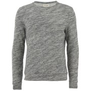 American Vintage Men's Brushed Fleece Sweater - Grey