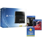 Sony PlayStation 4 Console - Includes DriveClub, The Last of Us & 90 Day PS Plus