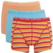 Bjorn Borg Men's Triple Pack Boxer Shorts - High Risk Red