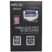 MICRO Pedi Nails Inc. Electronic Foot File Powered by Micro Pedi