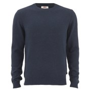 Fjallraven Men's Ovik Crew Neck Jumper - Navy