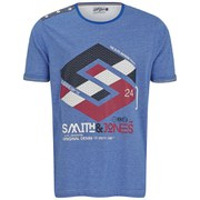 Smith & Jones Men's Stoneleigh T-Shirt - Le Mans Blue Marl