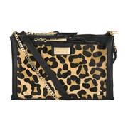 Dune Electra Clutch Bag - Leopard