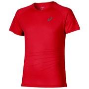Asics Men's Lite Show Graphic Running T-Shirt - True Red