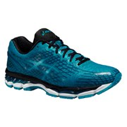 Asics Men's Gel Nimbus 17 Lite Show Running Shoes - Blue/Black