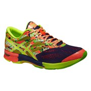 Asics Men's Gel Noosa Tri 10 Running Shoes - Indigo Blue/Flash Coral/Flash Yellow