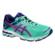 Asics Women's GT 1000 4 Running Shoes - Aqua Mint/Indigo Blue/Pink Glow