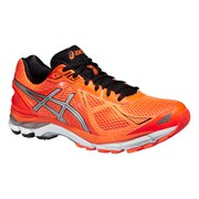 Asics Men's GT 2000 3 Running Shoes - Hot Orange/Silver/Black