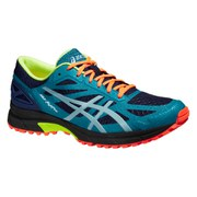 Asics Men's Gel FujiPro Trail Running Shoes - Indigo Blue/Aquatic Blue/Mosaic Blue