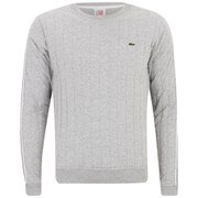 Lacoste L!ve Men's Pinstripe Sweatshirt - Green