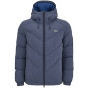 Lacoste L!ve Men's Puffa Jacket - Blue