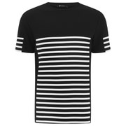 T by Alexander Wang Men's Gel Print Crew Neck T-Shirt - Matrix