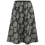 French Connection Women's Acid Lily Jacquard Skirt - Grey