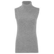 French Connection Women's Abel Knits High Neck Jumper - Grey Melange