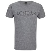 OBEY Clothing Men's Time Zones London Short Sleeve T-Shirt - Heather Grey