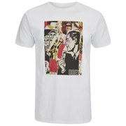 OBEY Clothing Men's Post No Bills Short Sleeve T-Shirt - White