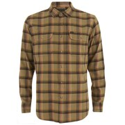 OBEY Clothing Men's Conner Woven Long Sleeve Shirt - Brown Multi
