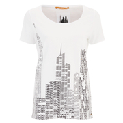 BOSS Orange Women's T-Shirt - White