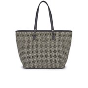 Tommy Hilfiger Women's Louise East West Tote Bag - Black/Khaki