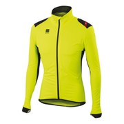Sportful Hot Pack No Rain Jacket - Yellow Fluo/Black