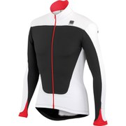 Sportful Force Thermal Long Sleeve Jersey - Black/White/Red