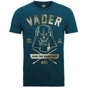 Exclusive Star Wars Darth Vader Foil Print Midnight Blue T-shirt