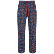 Marvel Men's Spider-Man Print Lounge Pants - Blue