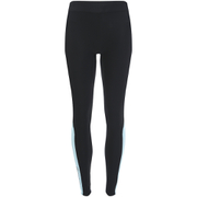 Skins A200 Womens Thermal Long Compression Tights - Black/Glacier