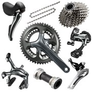 Shimano Tiagra 4700 10 Speed Compact Groupset - 50/34